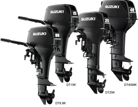 Suzuki marine kerosene outboards