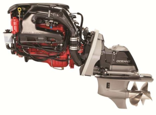 volvo penta's 225 hp marine engine
