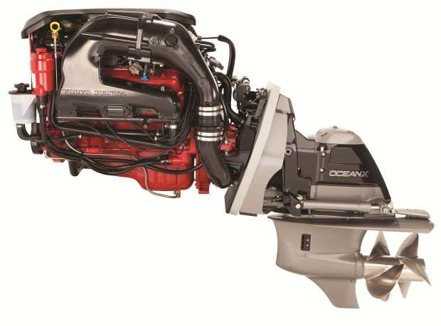volvo penta's 225 hp marine engine